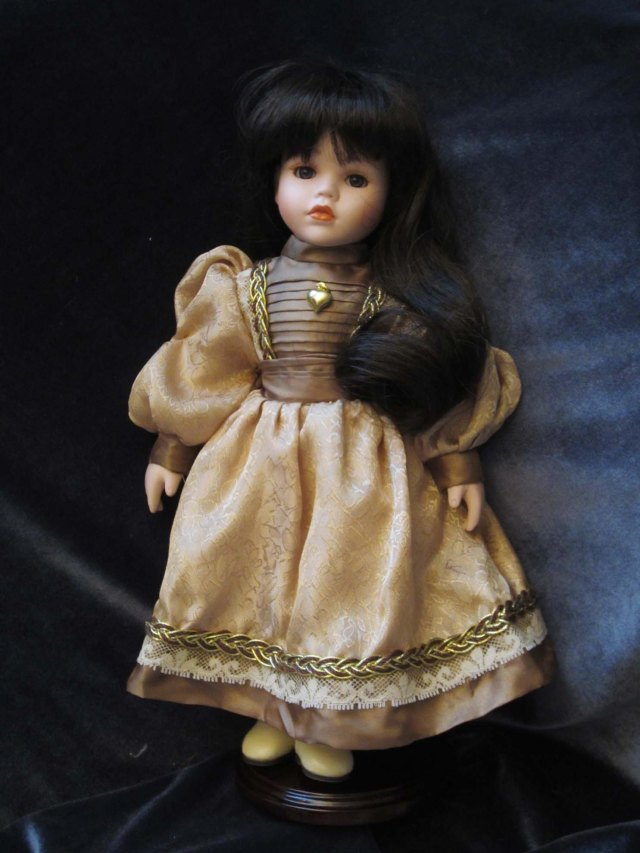 doll wardrobe brown