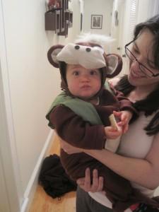 Halloween 5 (monkey)