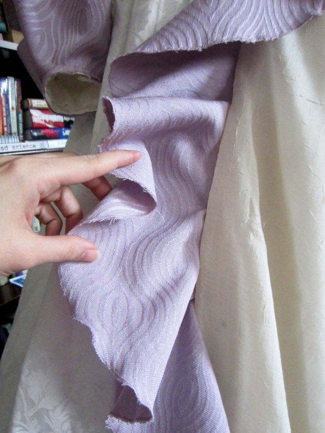 ursula sewn ruffle
