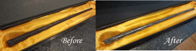GL wand before after