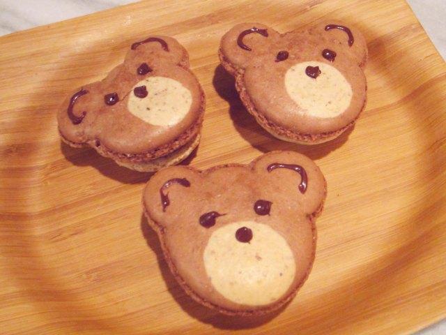 macaron bears trio