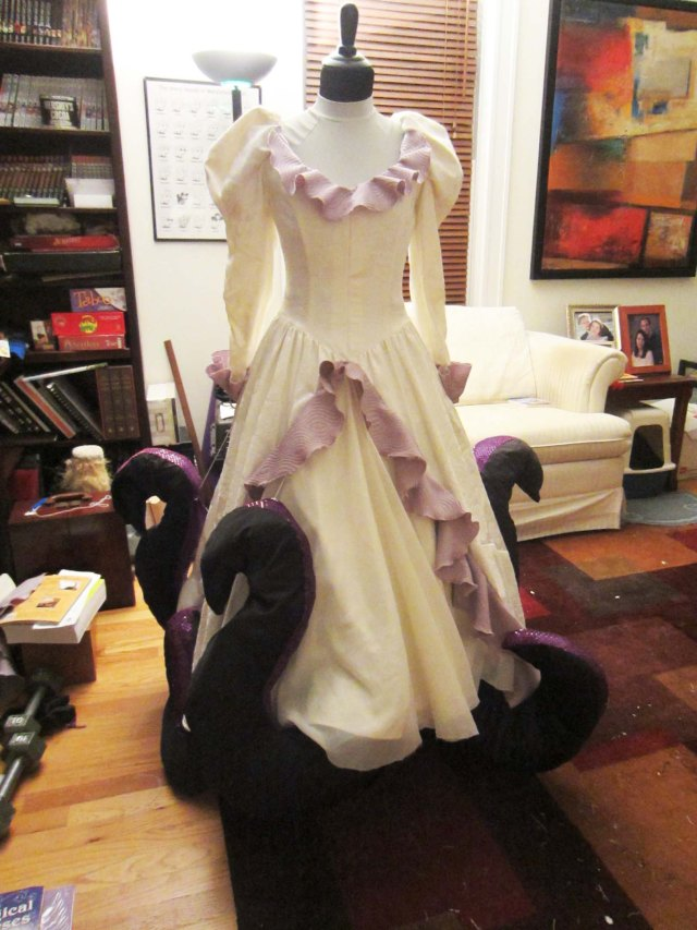 ursula dress done