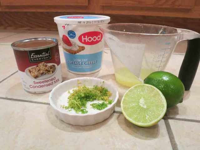 key-lime-ingredients