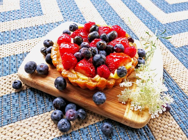 fruit tart mini