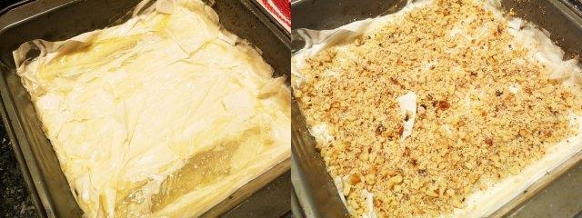 baklava dough nuts