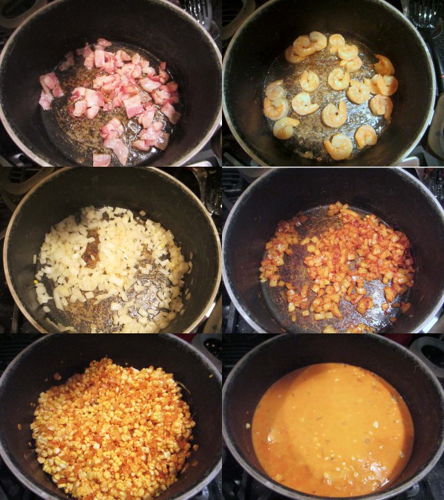 smoky corn process