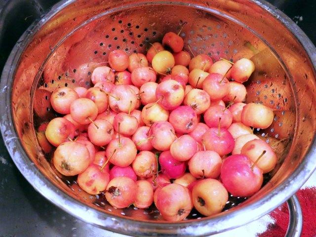 crabapple jelly apples