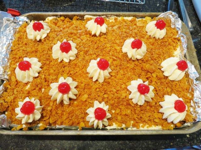 fried IC cake done