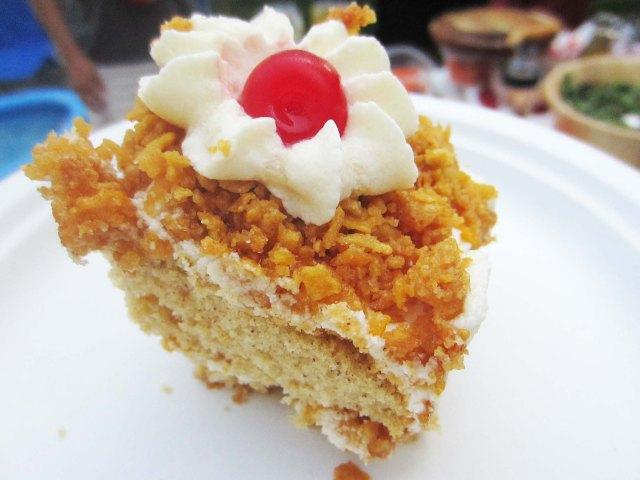 fried IC cake