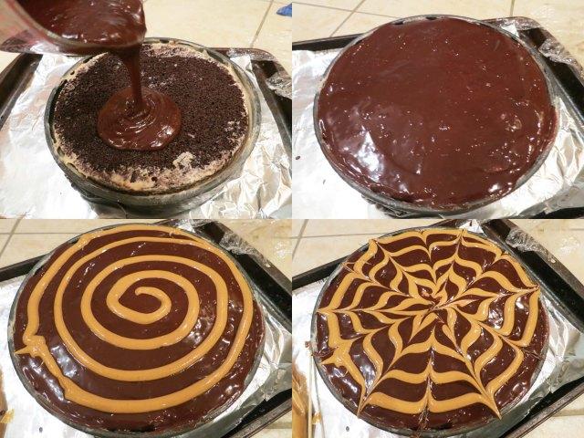 pb ice cream cake topping