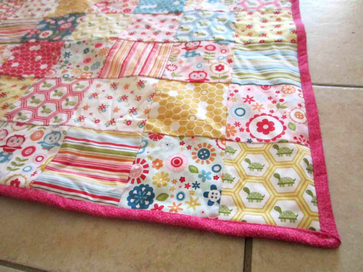 Patchwork Baby Quilt It S All Frosting