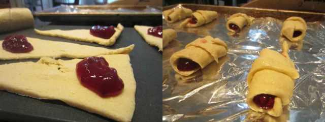 raspberry-rolls-process