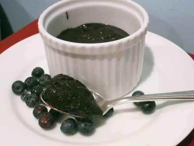 choc-blueberry-pudding