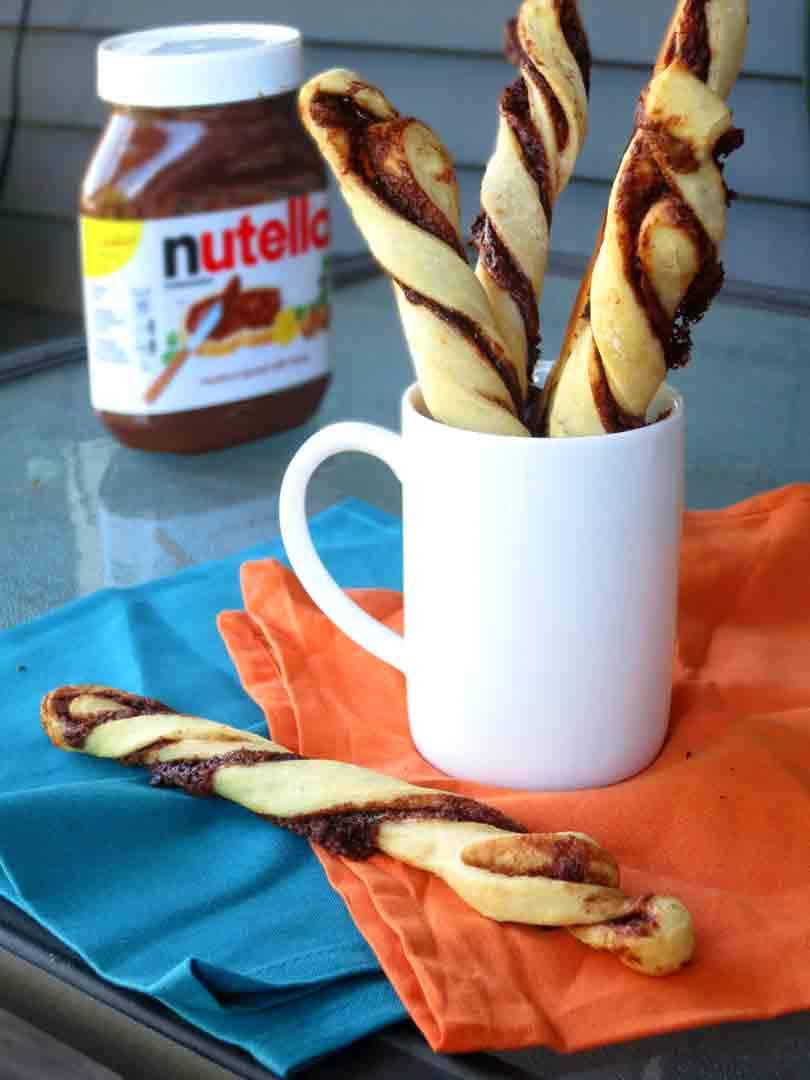 nutella-twists