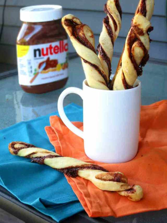 nutella-twists
