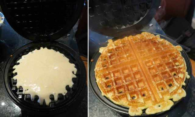 waffle-cooked