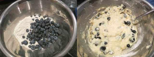 blueberry-batter