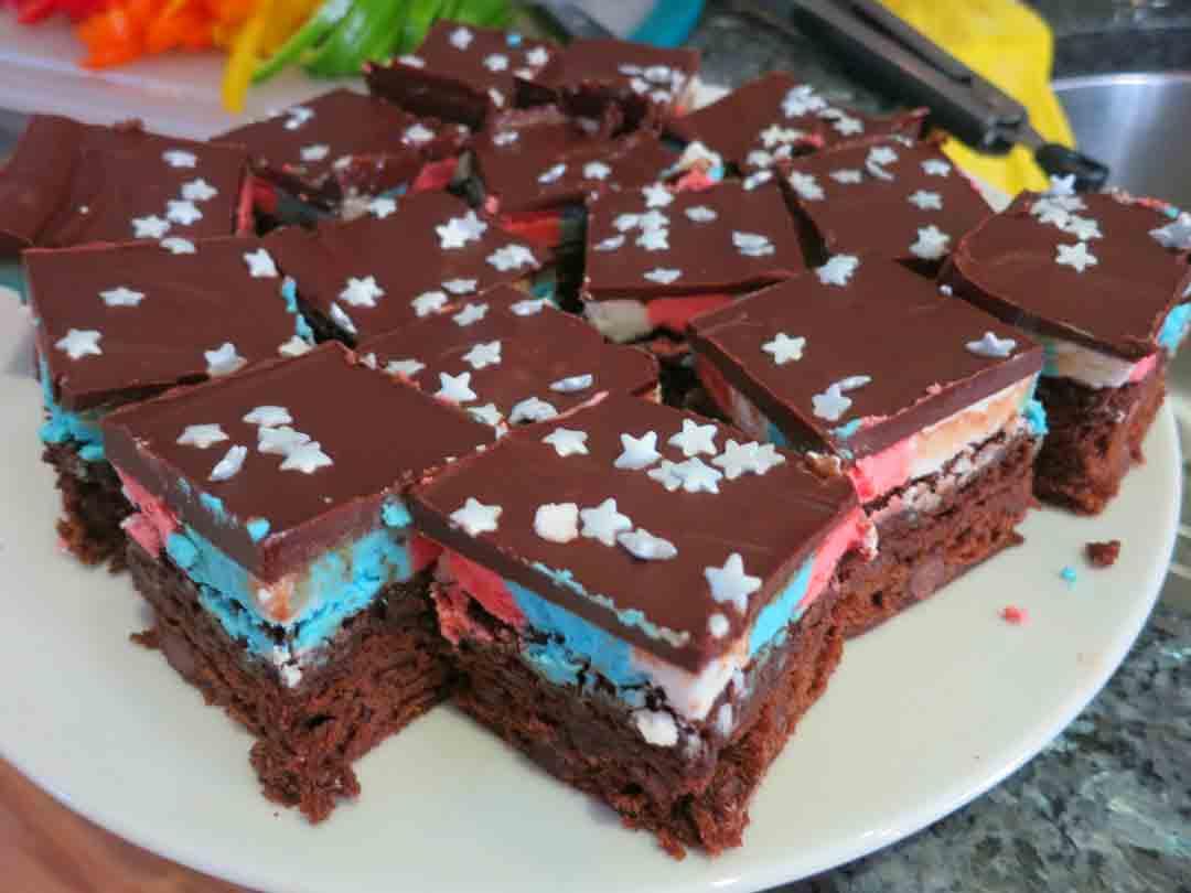 patriotic-brownies