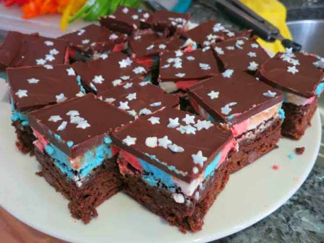 patriotic-brownies