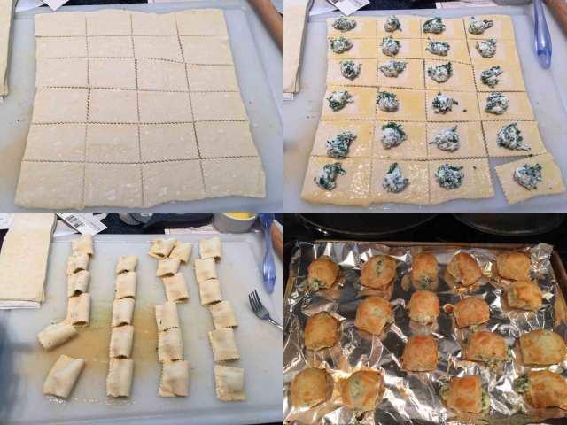 spinach-puffs-process