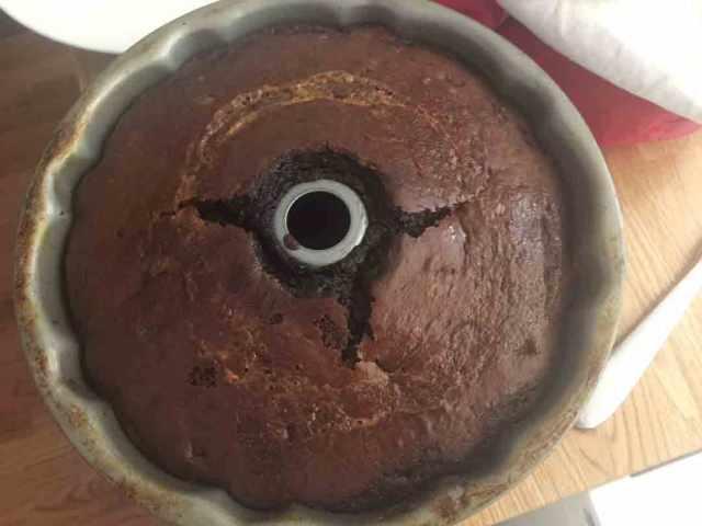 chocoflan-baked