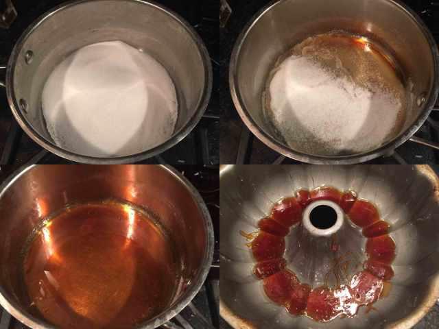 chocoflan-caramel