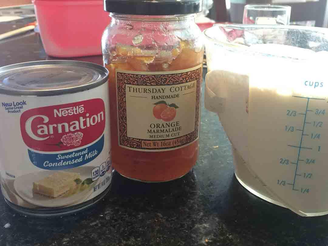 marmalade-ice-cream-ingredients